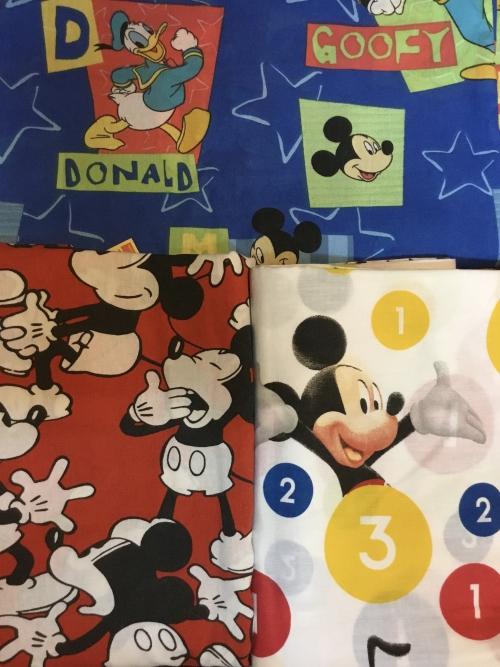 ミッキーキャラクターシーツが入荷しました!