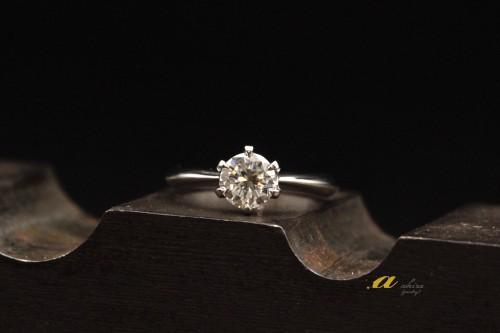 江東区からのお客様婚約指輪のご注文でした