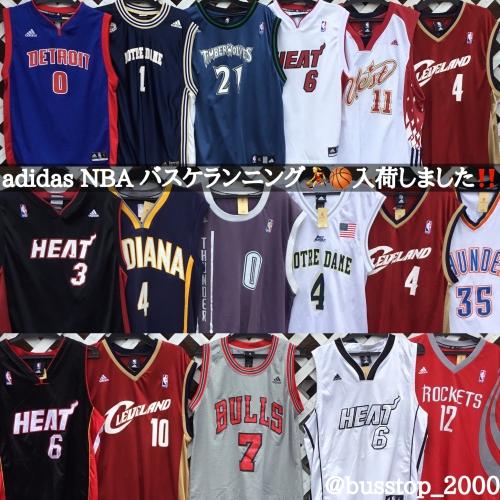 adidas NBA バスケランニング入荷しました!