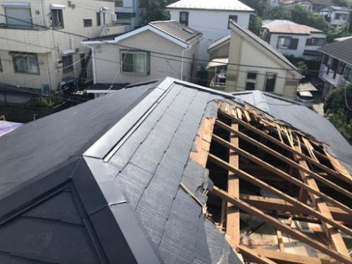 座間市で台風後の屋根工事のご相談はマルセイテックへ