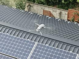 泉区で屋根の点検はドローン点検が無料のマルセイテックへ!