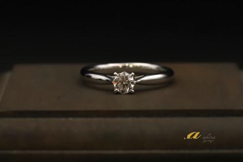 銚子市からご来店のお客様スペシャルな婚約指輪のご注文でした