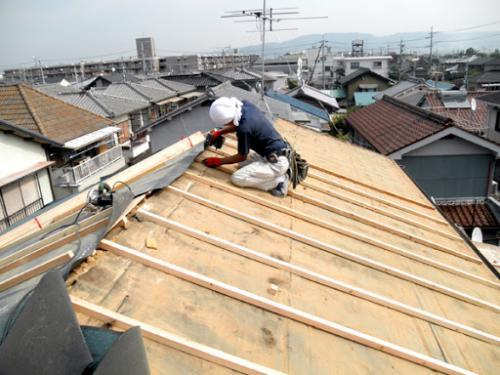 横浜市の屋根葺き替え工事は良心価格のマルセイテックへ