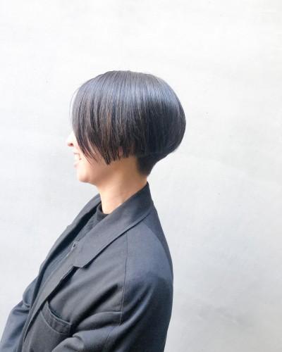 代官山美容室 ショートヘア得意 刈り上げ女子