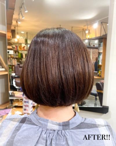代官山 美容室 髪質改善 脱縮毛矯正 トリートメント