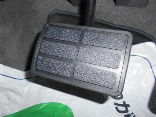 ボルボ240 740 940ブレーキペダルパット方べり取替