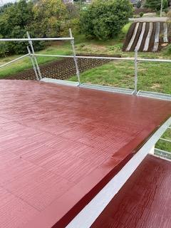 鶴ケ島市で屋根の遮熱塗装工事を施工しました