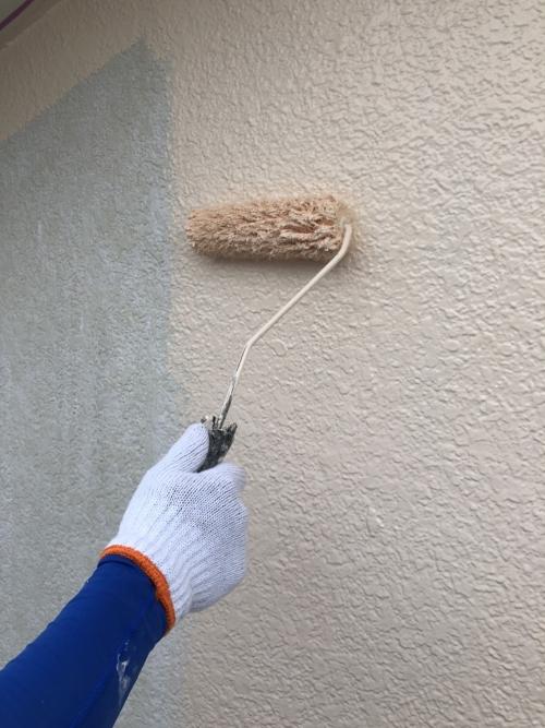 外壁モルタルのラジカル塗料で塗装工事を施工しました