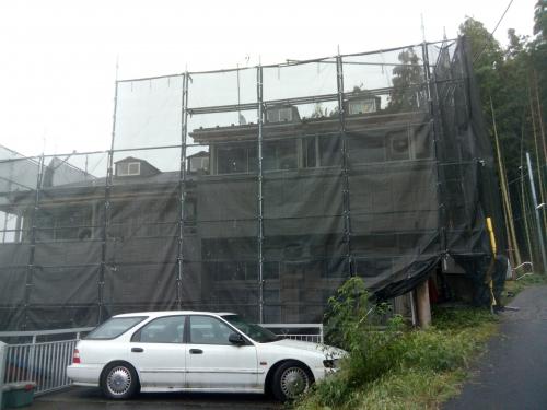 川崎市多摩区某所塗装工事