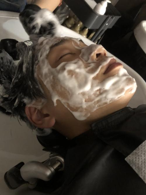 メンズ 洗顔 グルーミング 調布国領美容室