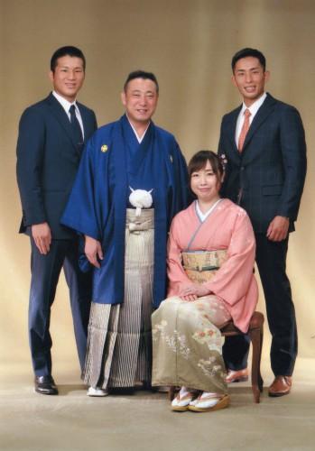 家族写真:楽しかったです!大きい写真プレゼントうれしいです!