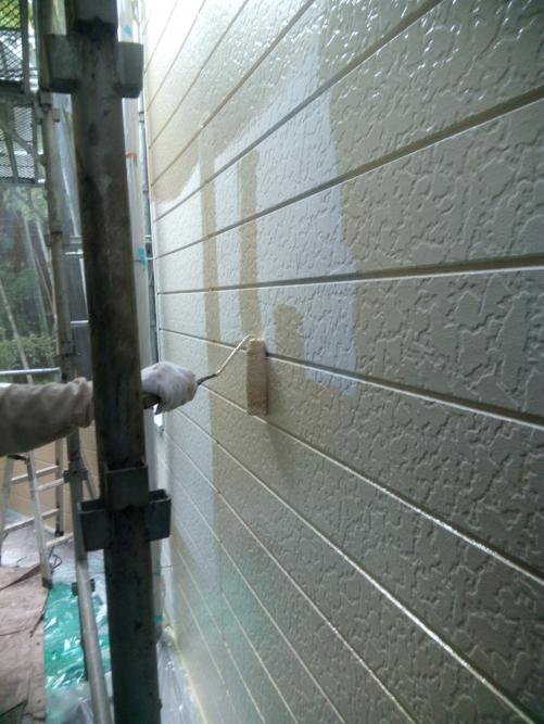 川崎市多摩区アパート塗り替え工事