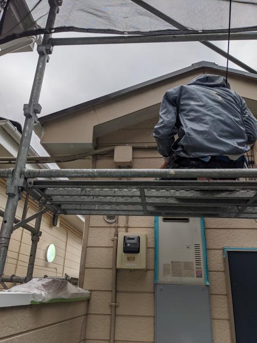 神奈川川崎市多摩区アパート塗り替え工事
