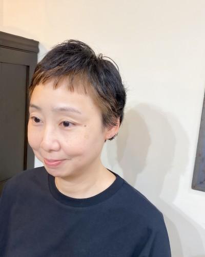フェイスフレーミング 白髪 インナー 代官山 美容室