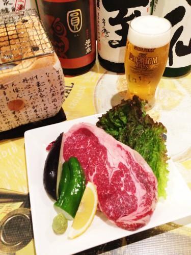 葡萄牛のステーキ入荷しました~~昭和ナイト!大井町